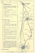 Map 1 from 1950 Dover-Ostend strip maps