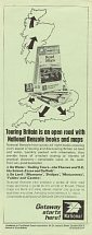 Exploring Britain by Car: National Benzole advert