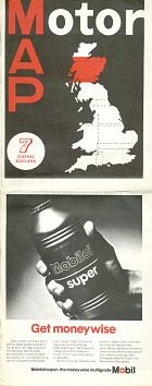 Covers from 1968 Motor Map 7 (Central Scotland)
