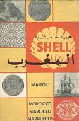 ca1963 Shell Cartoguide map of Morocco