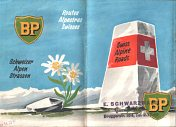 1952 BP booklet of Swiss Alpine Roads