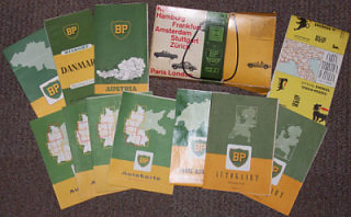 c1957 BP touring maps set