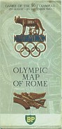 1960 BP Olympic map of Roma