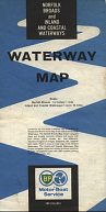 1963 BP map of Inland Waterways