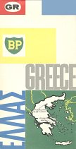 1964 BP map of Greece