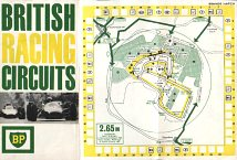 ca1965 BP map of British Racing Circuits