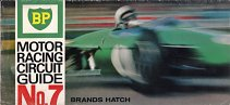 BP Motor Racing Circuit Guide 7 - Brands Hatch from 1966