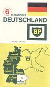1968 BP section 6 map of West Germany