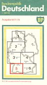 1977 BP sectional map 5 of West Germany