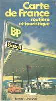 1978 BP Map of France
