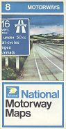 1975 National Motorways map