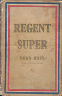 ca1935 Regent Super Road Maps book