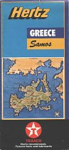 ca1994-2000 Texaco/Hertz map of Samos