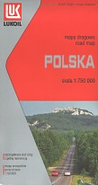 2008 Lukoil map of Poland