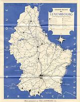 ca1060 Esso map of Luxembourg
