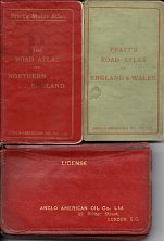 Various Pratt's atlases from 1904-5