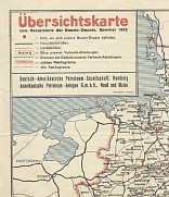1922 DAPG map of Germany
