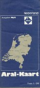 1970 Aral map of the Netherlands