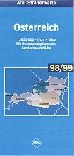 1998 Aral map of Austria