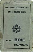 ca1938 Boie map of Germany