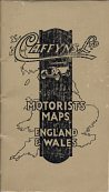 1929 Caffyns Motorists Maps of England & Wales