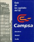 1992 Campsa guide to Barcelona, Madrid and Sevilla