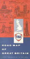 1960 Fina map of Britain