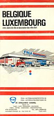 ca1978 Fina (dealer) map of Belgium