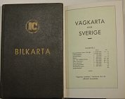 1948 IC Road atlas of Sweden