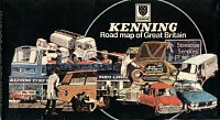 1974 Kenning map of Great Britain