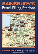 1995 Sainsbury's Petrol Station map