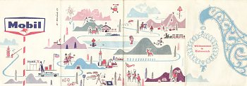 Another c1959 Mobil map of Austria