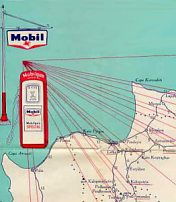 Map extract from Mobil Cyprus