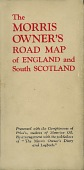 Cover from 1936 Morris/Motorine map of England and South Scotland