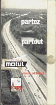 1968 Motul map booklet of France