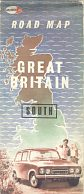 Late 1960s Murco map of Great Britain South