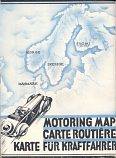 1937 Nordisk Tourist Traffic Committee map of Scandinavia