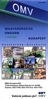 2001 OMV map of Hungary