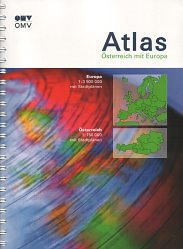 ca2007 OMV atlas of Austria and Europe