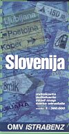 1996 OMV Istrabenz map of Slovenia