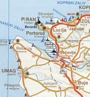 1996 OMV Istrabenz map (extract)