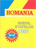 1993 Peco map of Romania