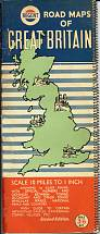 mid 50s Regent Road Maps of Great Britain
