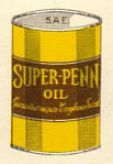 Close up of Super-Penn can from 1953 map