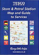 1999 Tesco map booklet of Britain