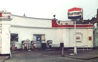 A Burmah station in North London