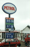 Esso sign reused as a generic Petrol logo