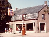 A Total-GB filling station seen in 1980