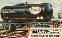 Airfix kit Esso tanker from the 1960s