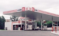 Lukoil Service Station in Bucharest, May 2001